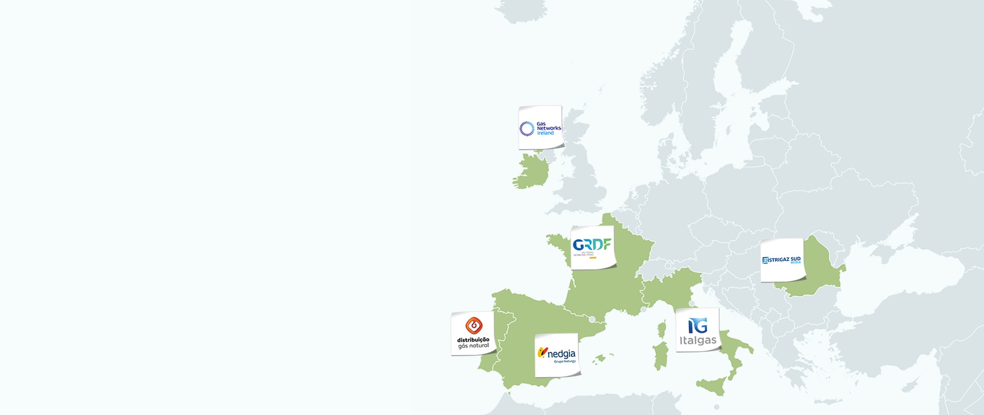 Six major European Gas distribution utilities gathered in the GD4S association